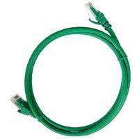 PC02-C5EUL-1M. Патч-корд категория 5е UTP 1 метр LSZH зеленый