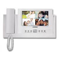 """Commax CAV-71B. 7.0"""", TFT LCD, PAL/NTSC, на 4 вызывных блока (подключаются через CDS-4CM), меню, подключение до 20 мониторов по """"витой паре"""", вызов и связь между мониторами, охранные функции, AC 110-240В"""