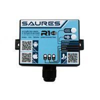 SAURES R3 Wi-Fi Контроллер, приложение iOS/Android, питание 3 батарейки АА в комплекте, 8 каналов для подключения: краны, счетчики, датчики