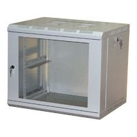 Шкаф настенный 15U серия WM (570х600х770), разборный, серый Netko