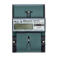 Меркурий 206 PRSN Квартирный счетчик электроэнергии