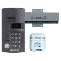 MK-2003.2TM4Е (комплект), Многоабонентный антивандальный микропроцессорный домофон, ёмкость до 999 абонентов, цифровой дисплей, светящаяся клавиатура, контроллер Touch Memory (ключи типа ТМ2002, ТМ2003, ТМ2004, DS 1990A), индивид. коды