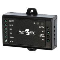 Smartec ST-SC010. Автономный контроллер, вход Wiegand, память на 500 пользователей, 12 В, 20 мА, -40...+60 °С, 65х54х19 мм.