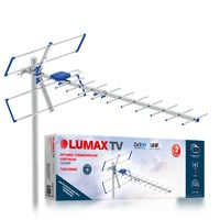 Антенна LUMAX DA2504P, уличная, пассивная, 13 дБи, DVB-T, DVB-T2, цифровая