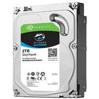 Жесткий диск HDD 2000 GB (2 TB) SATA-III SkyHawk (ST2000VX008)