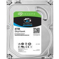 "Жесткий диск HDD 4ТБ, 3.5"", 5980об/мин, 64МБ, SATA 6 Гбит/с, Seagate SkyHawk, ST4000VX007"