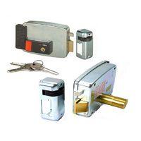 Замок электромеханический CISA 11931.60.4 Накладной, снаружи ключ, внутри ключ+кнопка, блокировка в открытом состоянии, для левой двери открывание наружу (тип двери определяется снаружи), в комплекте ответная планка, 3 ключа, крепеж