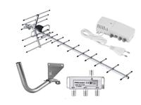 Комплект цифрового телевидения Меридиан-12F / усилитель Terra AS039