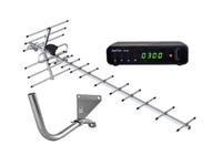 Комплект цифрового телевидения Меридиан-12F / BarTon TH-562