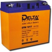 Аккумулятор 1217 Delta DTM