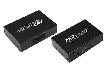 Конвертер SCART в HDMI REXANT