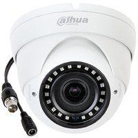 """Dahua DH-HAC-HDW1100RP-VF Купольная антивандальная HDCVI видеокамера 720P; 1/2.9"""" 1Mп CMOS; вариофокальный объектив: 2,7-12мм; дальность ИК: 30м; чувствительность: 0.05лк/F1.4(цвет), 0лк@F1.4(ИК вкл); DWDR, 2DNR; питание: DC12В; IP67"""