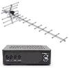 Цифровое ТВ WV Меридиан-12AF (дальность приема до 70 км, антенна требует точной настройки на телевышку)