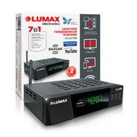 Lumax DV4207HD цифровой ресивер со встроенным Wi-Fi адаптером