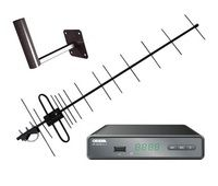 Комплект цифрового телевидения Эфир-18F / CADENA CDT-1651SB