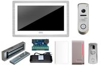 Комплект видеодомофона CTV-M4104AHD W / DVC-514Si Color / электромагнитный замок MS-180