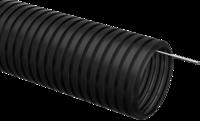 Труба гофрированная ПНД 32 с зондом 25м ЧЕРНАЯ