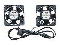 RACK5 Комплект вентиляторов (2шт) для установки в настенный шкаф