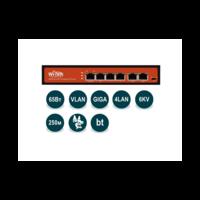 Wi-Tek WI-PS305G (v2) неуправляемый гигабитный коммутатор с функцией PoE