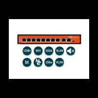 Неуправляемый гигабитный коммутатор WI-PS308G (v2) с функцией PoE