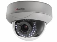 DS-T207P (2.8-12 mm) 2Мп внутренняя купольная HD-TVI камера с ИК-подсветкой до 30м и технологией PoC