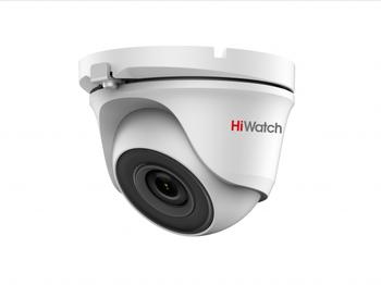 DS-T203(B) (2.8 mm) 2Мп уличная купольная HD-TVI камера с EXIR-подсветкой до 20м