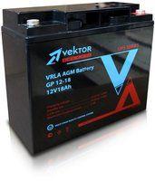 Аккумуляторная батарея VEKTOR ENERGY серии GP 12В/18Ач