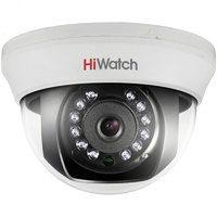 HiWatch DS-T201 (6 mm) 2Мп внутренняя купольная HD-TVI камера