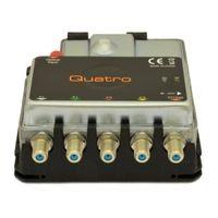 Invacom FibreIRS GTU Quatro Mark 2 Оптический шлюз для преобразования оптического сигнала на четыре поддиапазона (VL, VH, HL, HH) и один DTT / DAB (цифровое наземное ТВ)