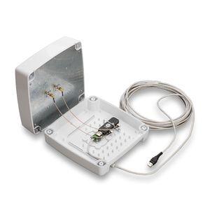 Комплект KSS15-Ubox MIMO без модема, LTE1800, 3G(UMTS2100), LTE2600, в комплекте: пигтейл CRC9-SMA(male) угловой-2 шт; кабель витая пара-9 м