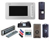 Комплект видеодомофона CTV-M400 W / CTV-D10NG / электромагнитный замок MS-180