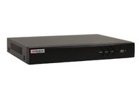 DS-H216U(B) 16-ти канальный гибридный HD-TVI регистратор для  аналоговых, HD-TVI, AHD и CVI камер + 2 IP-канала