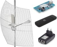 Комплект 4G интернета KNA27-1700/2700 BOX / HUAWEI E 3372
