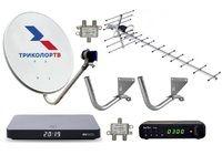 Комплект эфирного и спутникового телевидения Триколор ТВ на 1 телевизор