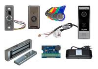 Комплект IP видеодомофона Satvision SVM-IP100W / электромагнитный замок MS-180