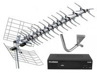 Комплект цифрового телевидения Меридиан-60AF Turbo / Lumax DV-3208HD