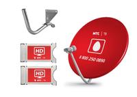 Спутниковое телевидение МТС ТВ  №193 на 2 телевизора с CAM-модулями
