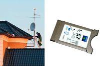 Установка и настройка спутникового ресивера, модуля доступа CI