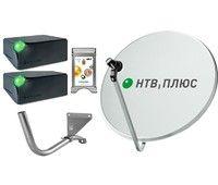 Спутниковое телевидение НТВ+ на 3 телевизора с 2 ресиверами EKT DSD4514r и CAM модулем