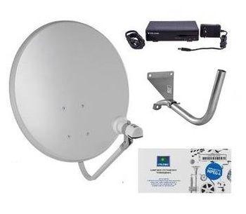 Спутниковое НТВ-ПЛЮС на 1 телевизор с ресивером NTV-PLUS 710HD