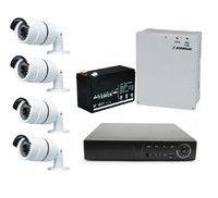 Комплект видеонаблюдения Owler OCD-504 Plus / 4 камеры Owler M520
