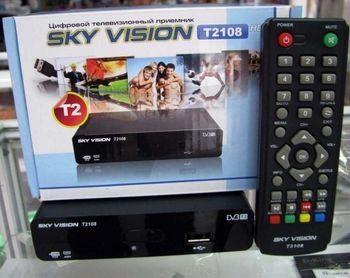 Ресивер цифровой эфирный DVB-T2 SKY VISION T 2108 HDMI