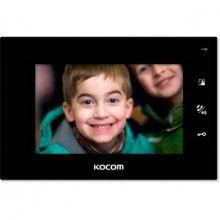 Монитор видеодомофона Kocom KCV-A374SD черный