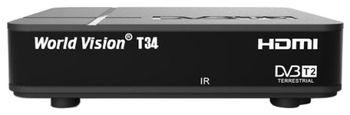 Ресивер цифровой эфирный World Vision T-34 HD DVB-T2