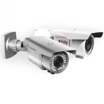 Видеокамера уличная VC-302 IR, Объектив М103;  ИК-подсветка, CMOS-800ТВЛ
