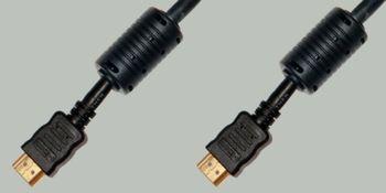 Шнур HDMI-HDMI 10,0m gold с фильтрами PROCONNECT