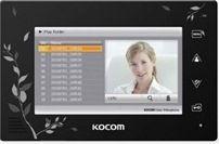 Монитор видеодомофона Kocom KCV-A374SD LE черный сенсорный