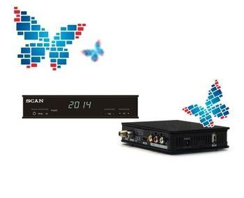 Ресивер цифровой эфирный DVB-T2|T1 HDMI SCAN T2-1840HD
