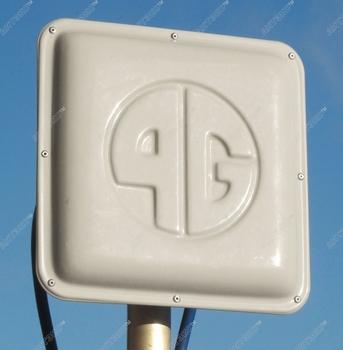 Антенна 4G AX-2513P MIMO/LTE2600 направленная панельная 2х13Дб/2хN-female