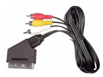 Шнур SCART(IN) x 3 RCA(OUT) 1,2m